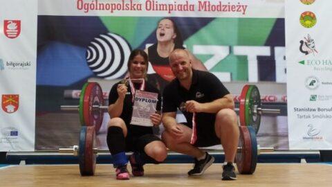 Marcin i Martyna Dołęgowie ze złotym medalem